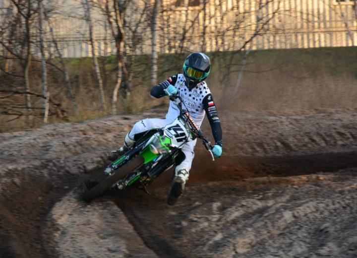 Hagric sponsorem Mateusza Stube –  zawodnika Mistrzostw Polski w Motocrossie
